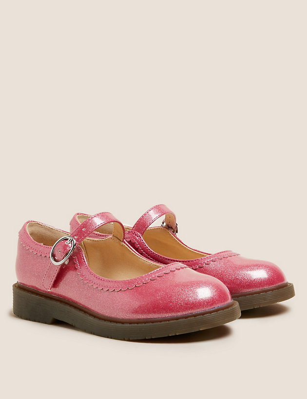 Kids' Freshfeet  Sparkle Mary Jane Shoes (5 Small - 12 Small)