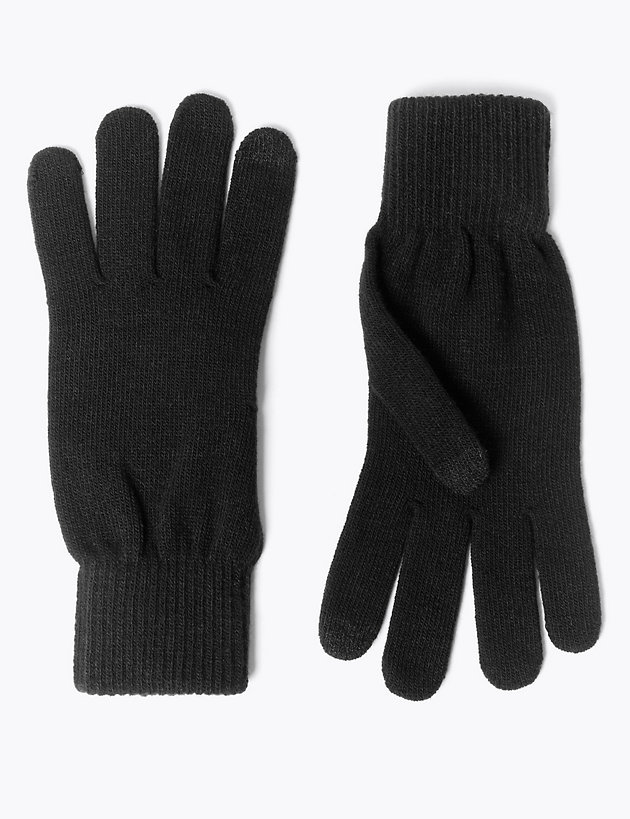 Textured Gloves with Thermowarmth