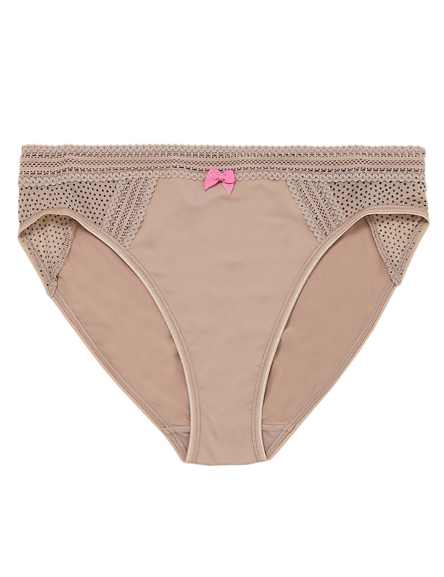 4Pack Marks /& Spencer Smooth Hi Leg Microfibre Knickers Panties Size 10