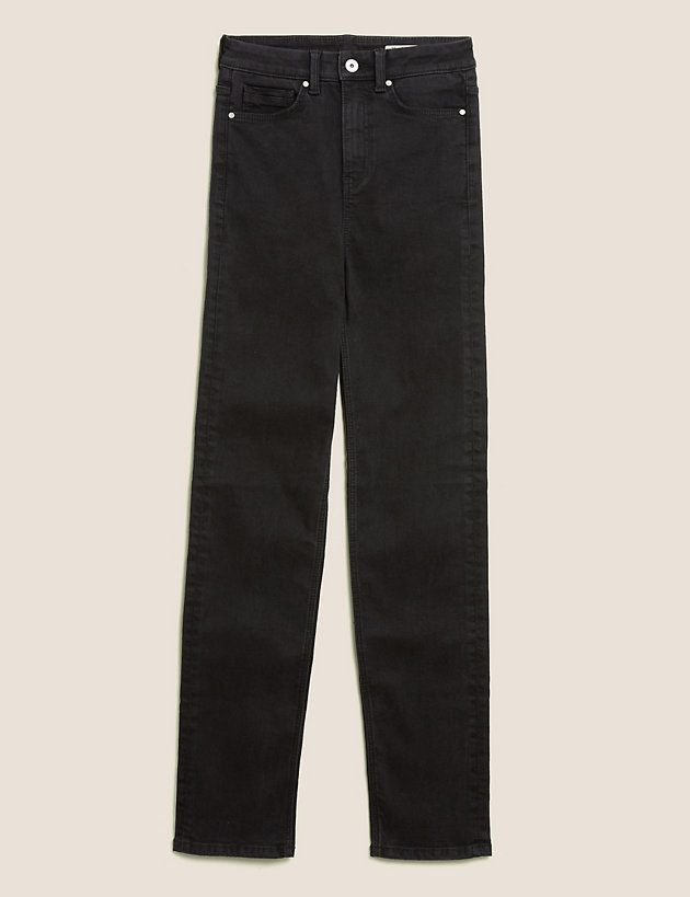Sophia Straight Leg Jeans with Stretch