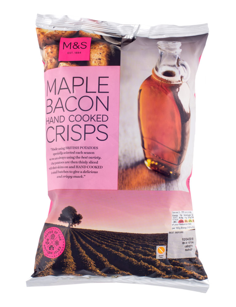 Maple Bacon Hand Cooked Crisps
