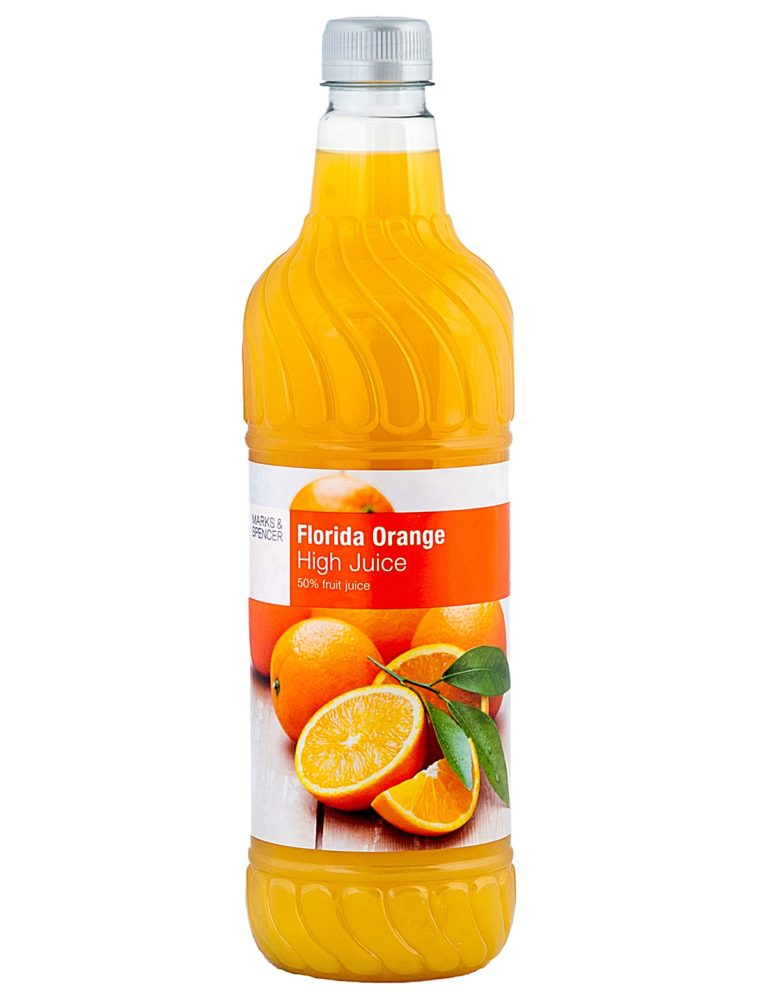 Mediterranean Orange High Juice Contains 50% Fruit Juice