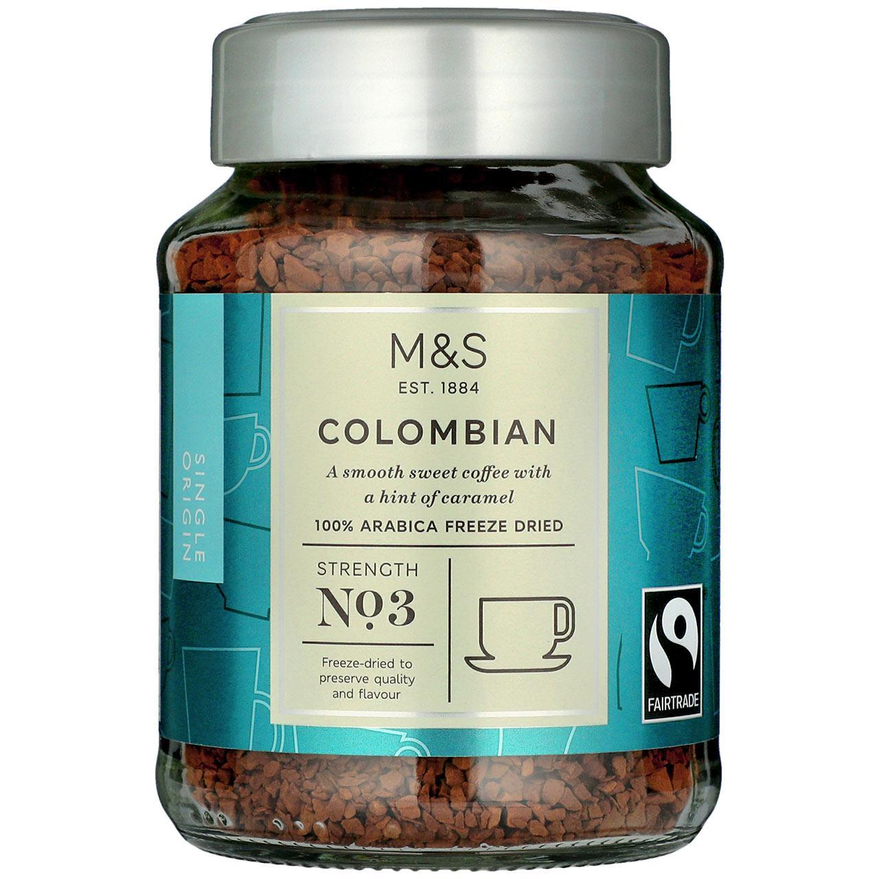 Fairtrade Instant Colombian Coffee100g