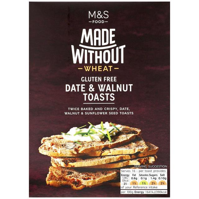 Made Without Date & Walnut Toasts 125g