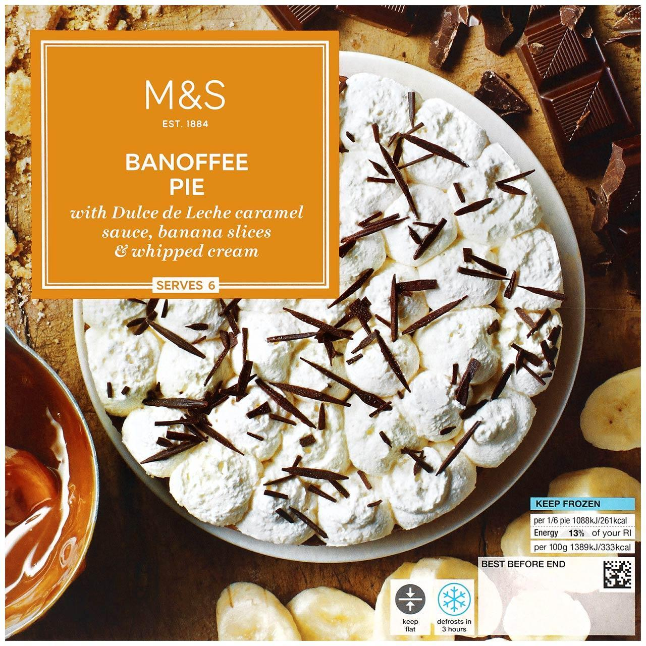 Banoffee Pie Frozen 470g