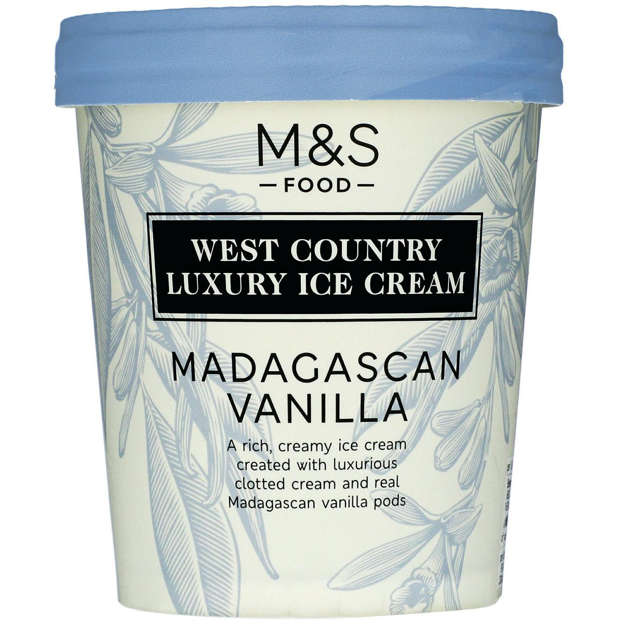 Madagascan Vanilla Ice Cream 500ml