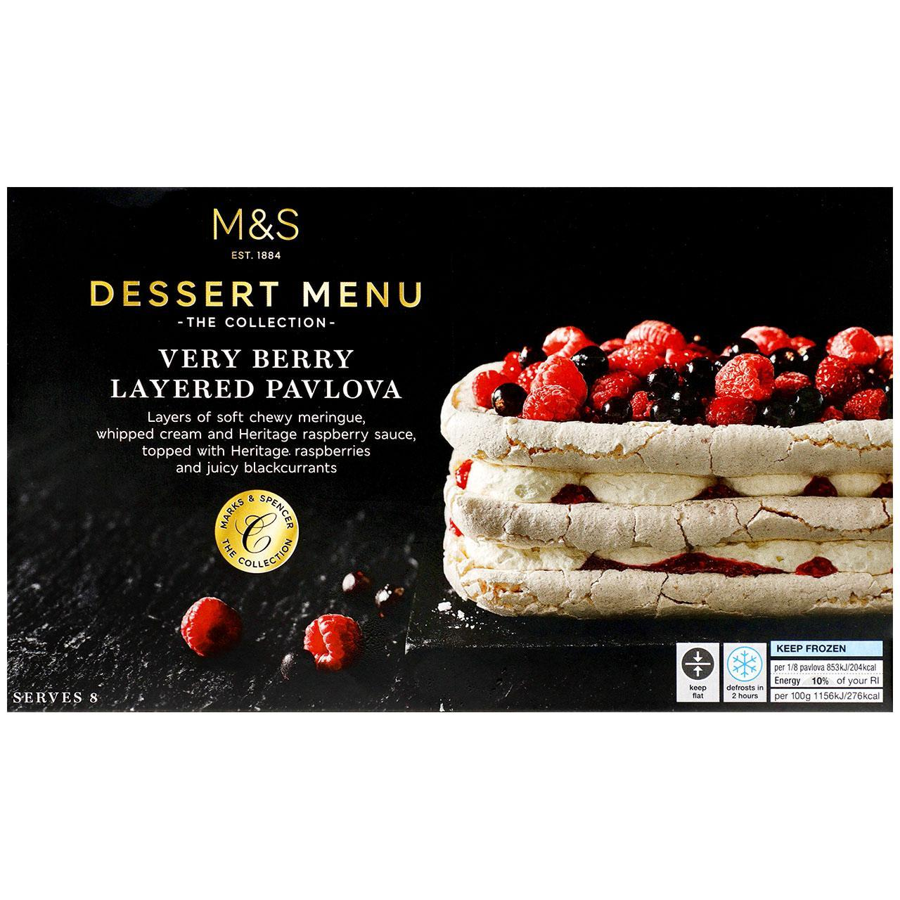 Collection Very Berry Layered Pavlova Frozen 590g