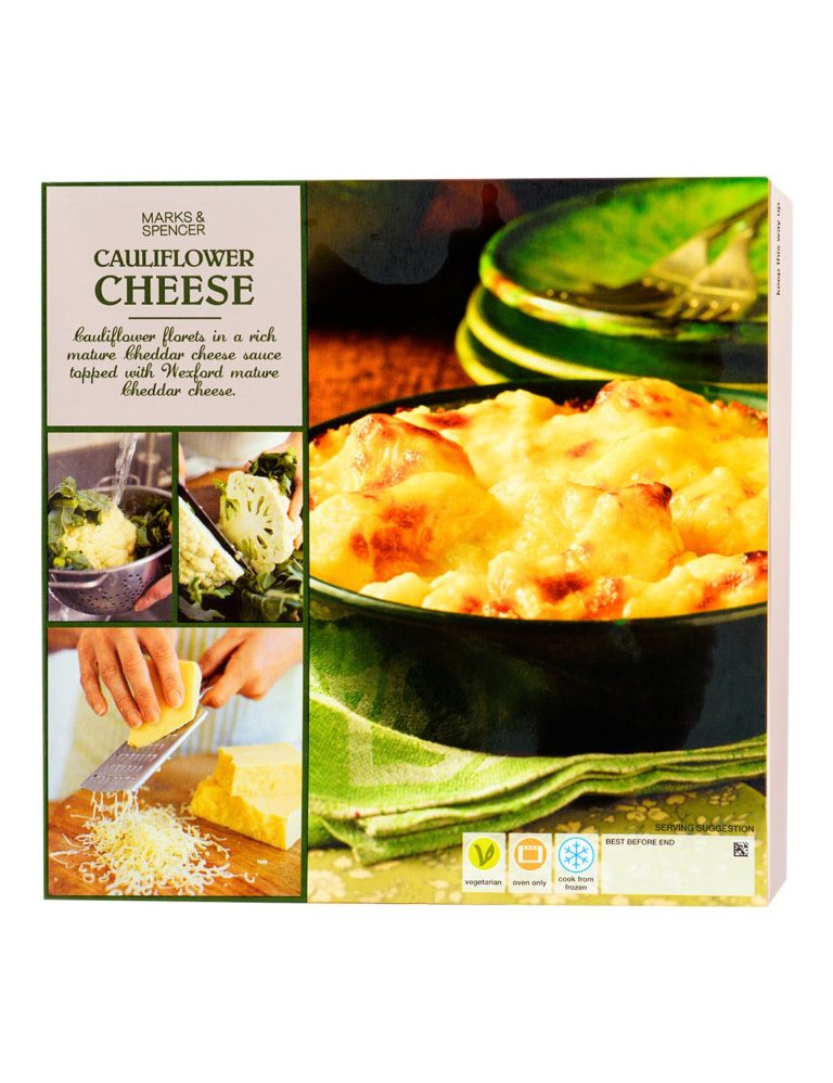 Cauliflower Cheese With Mature Cheddar Cheese