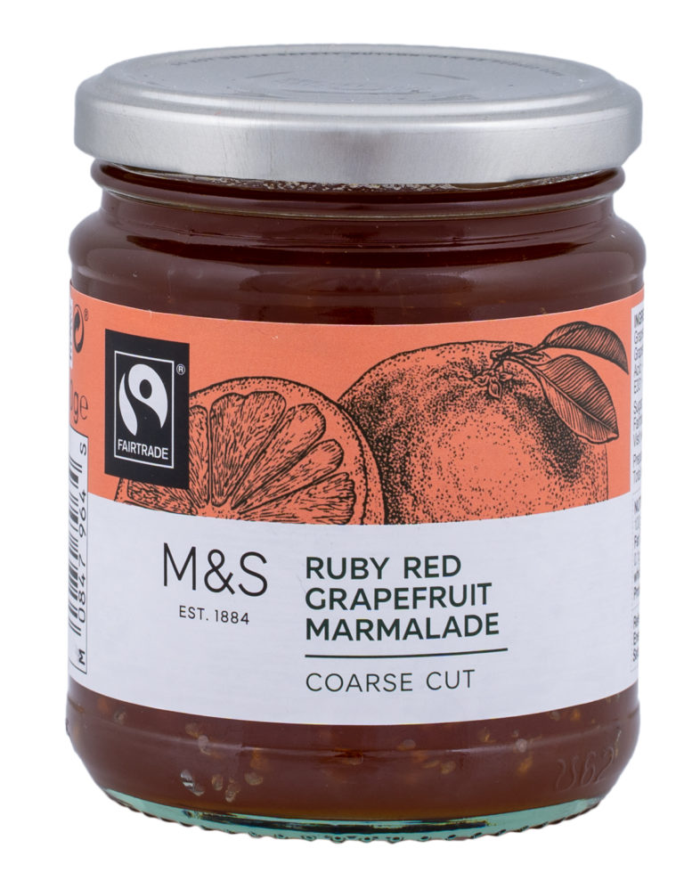 Ruby Red Grapefruit Marmalade