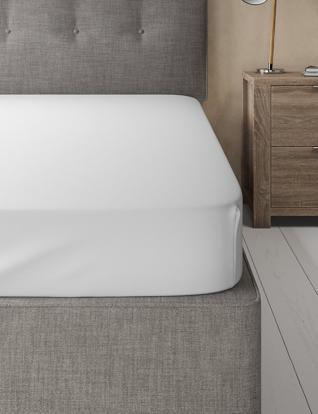 Egyptian Cotton 400 Thread Count Sateen Fitted Sheet