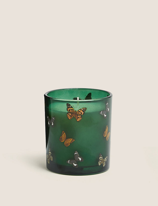 Bergamot Butterfly Print Candle