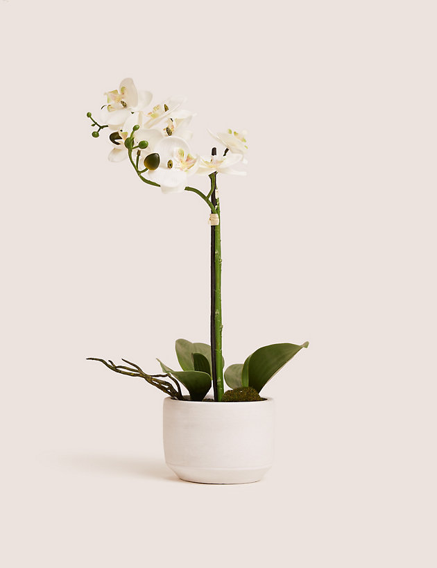 Artificial Medium Orchid Plant