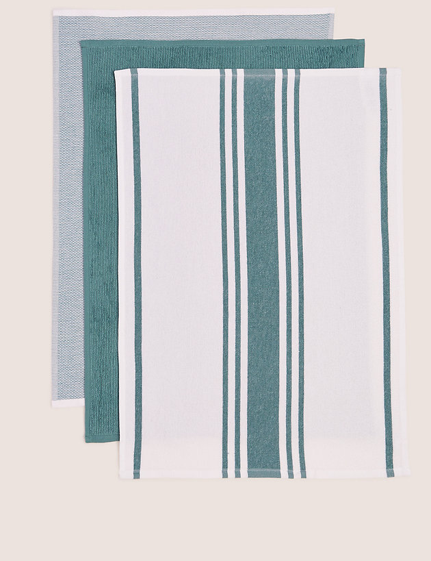 Set of 3 Assorted Kitchen Towels