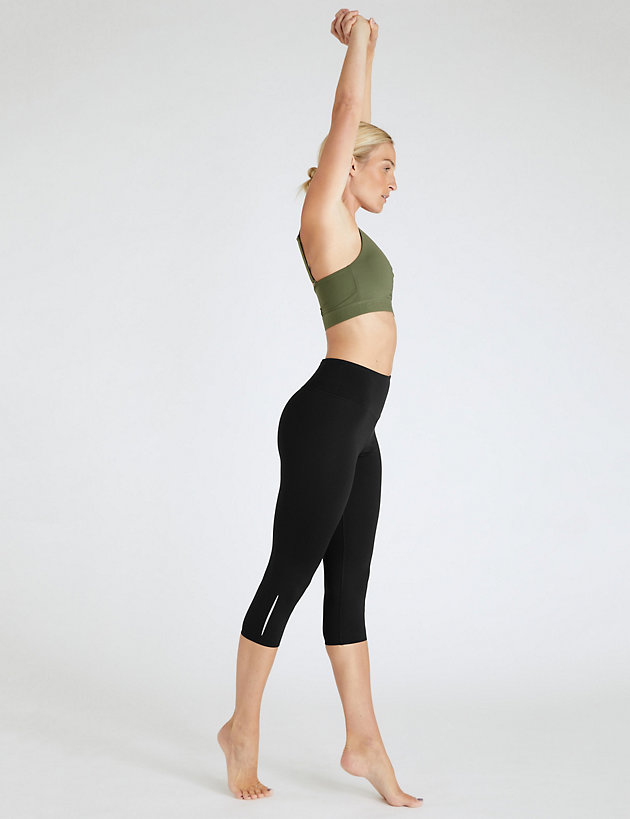 Go Train Cropped Gym Leggings