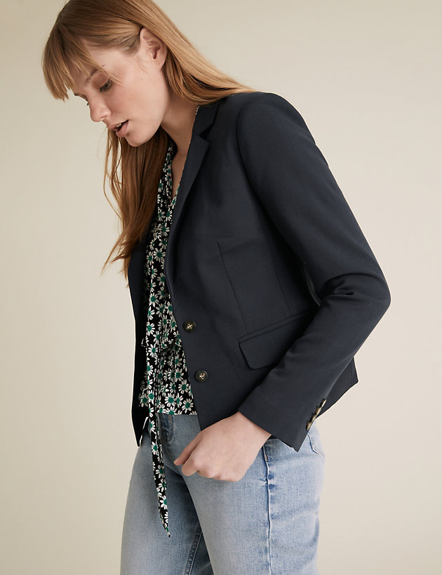 Tailored Single Breasted Jacket