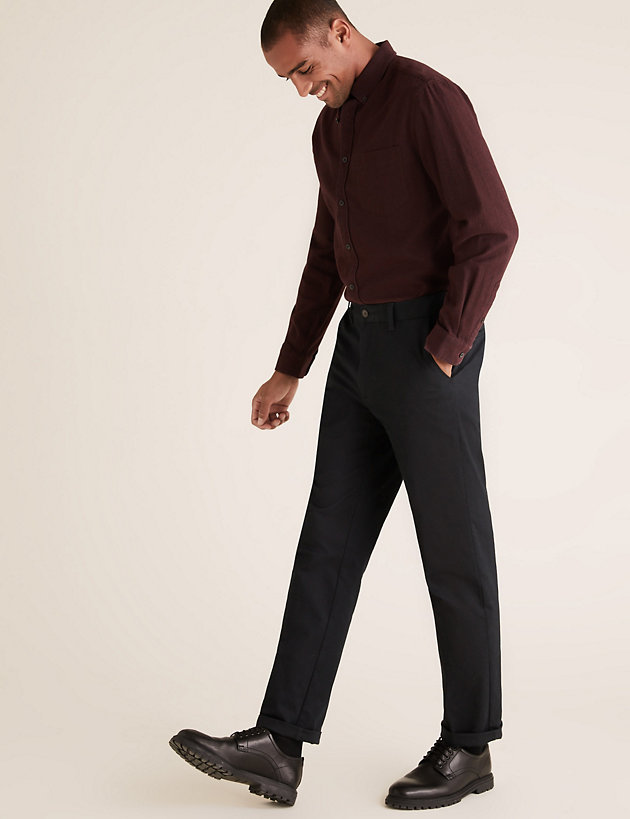 Regular Fit Premium Stretch Chinos