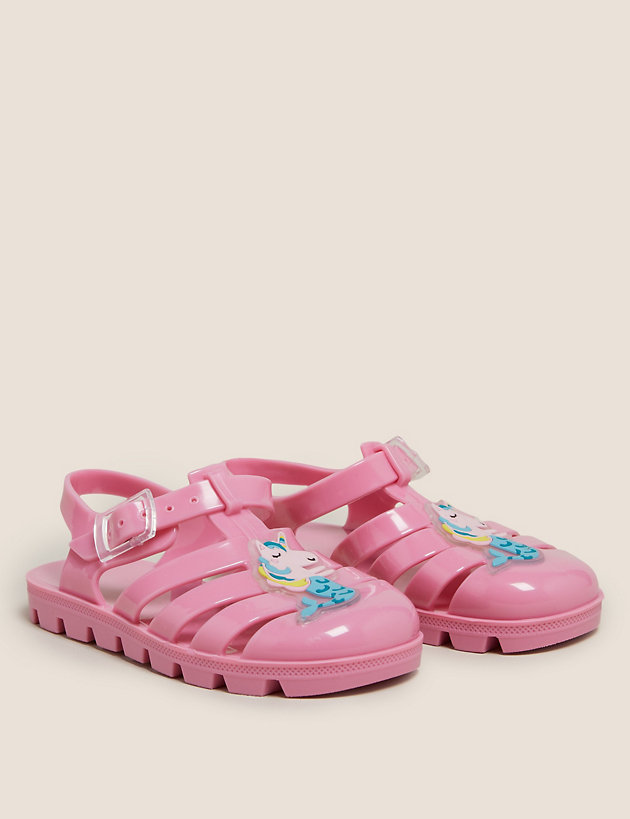 Kids' Mermicorn Jelly Shoes (5 Small- 12 Small)