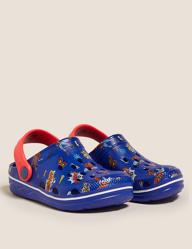 Kids' Spider-Man  Clogs (5 Small - 12 Small)