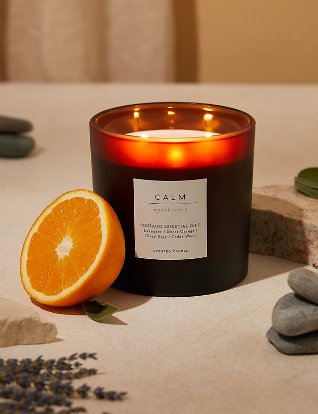 Calm Large 3 Wick Candle