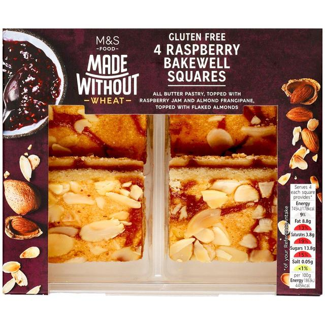 Made Without Raspberry Bakewell Squares4 per pack