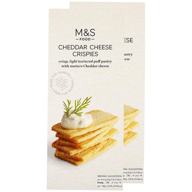 Cheese Crispies Twin Pack2 x 100g