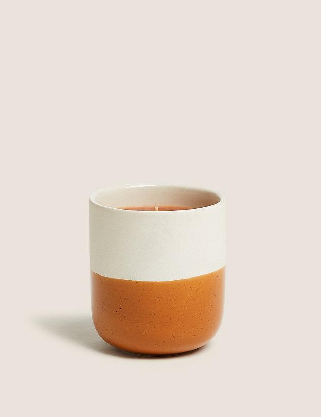 Spiced Vanilla & Amber Small Candle