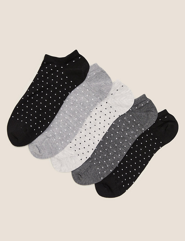 5pk Sumptuously Soft  Trainer Liners