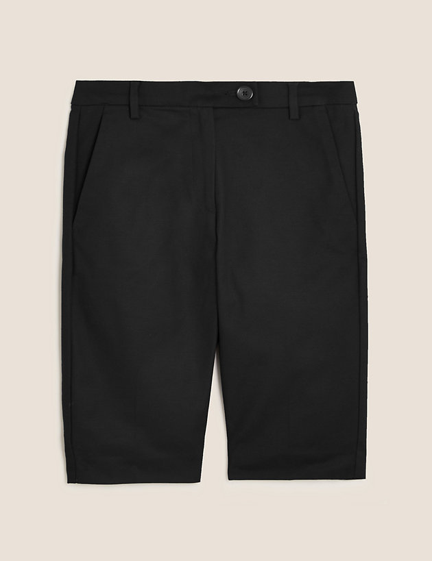 Cotton Tailored Chino Shorts