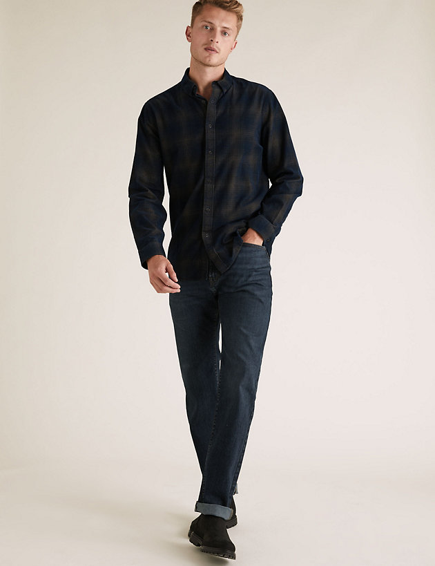 Regular Fit Stretch Jeans with Stormwear