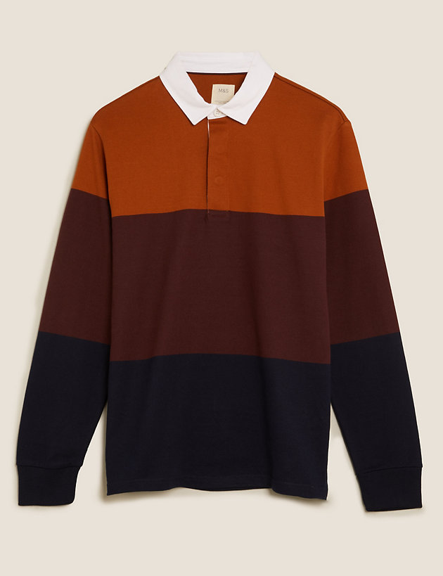 Pure Cotton Rugby Top