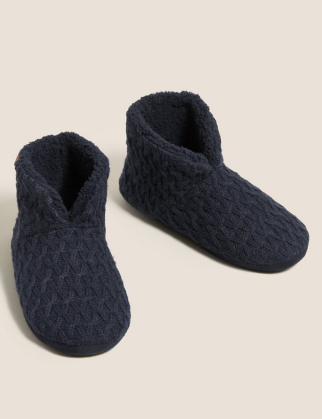 Slipper Boots with Freshfeet