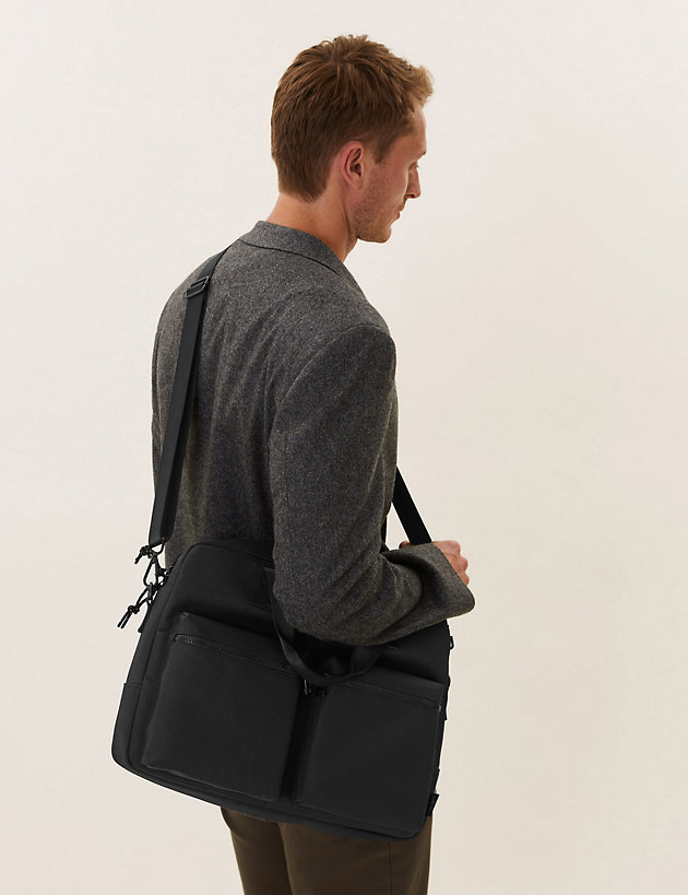 Recycled Polyester Pro-Tect  Laptop Bag
