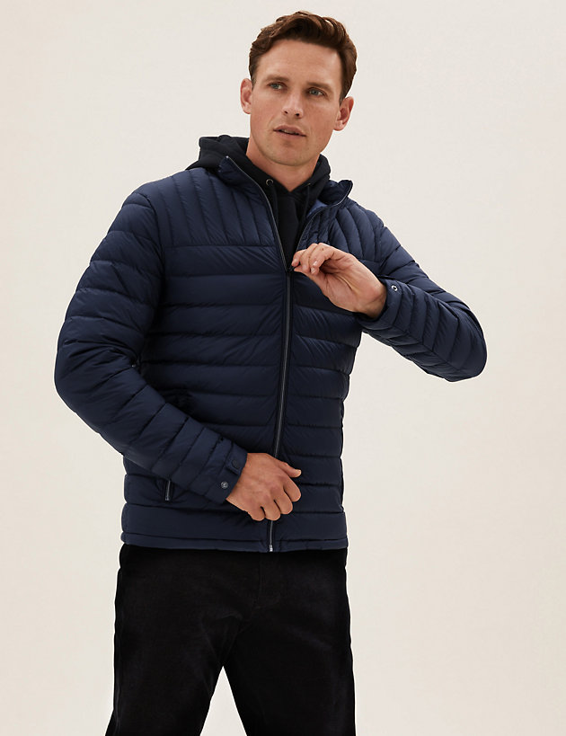 Recycled Puffer Jacket with Stormwear