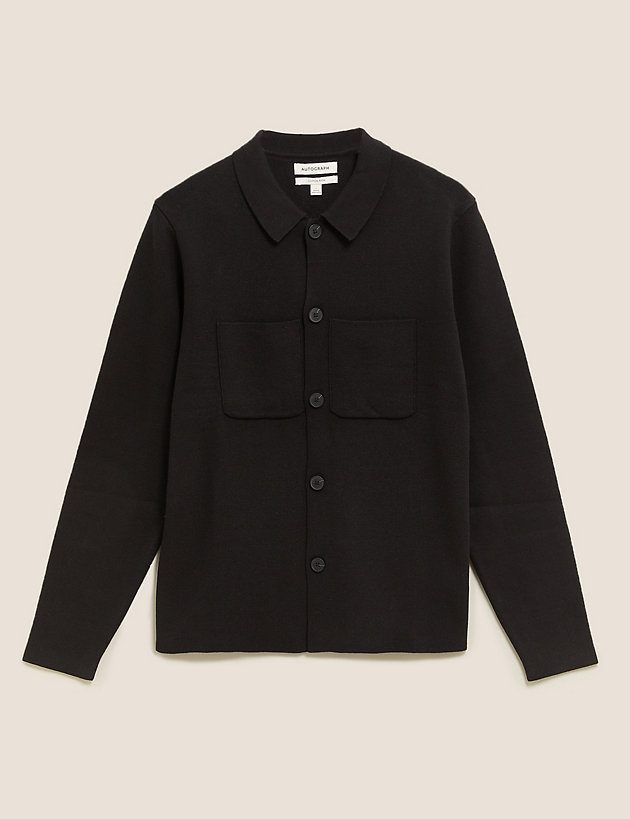 Cotton Knitted Jacket