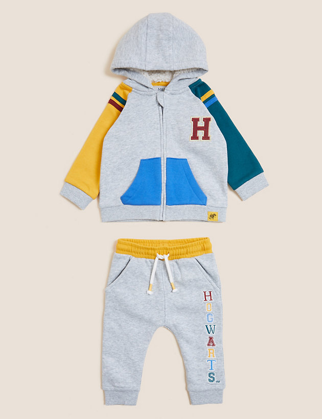 Harry Potter  2pc Cotton Outfit (0-3 Yrs)