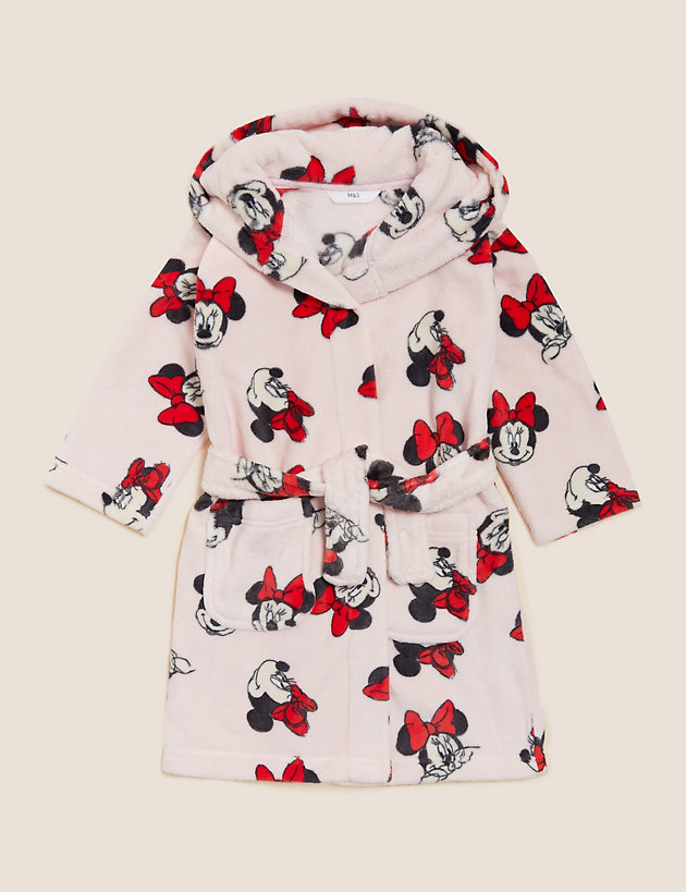 Minnie Mouse  Dressing Gown (2-10 Yrs)