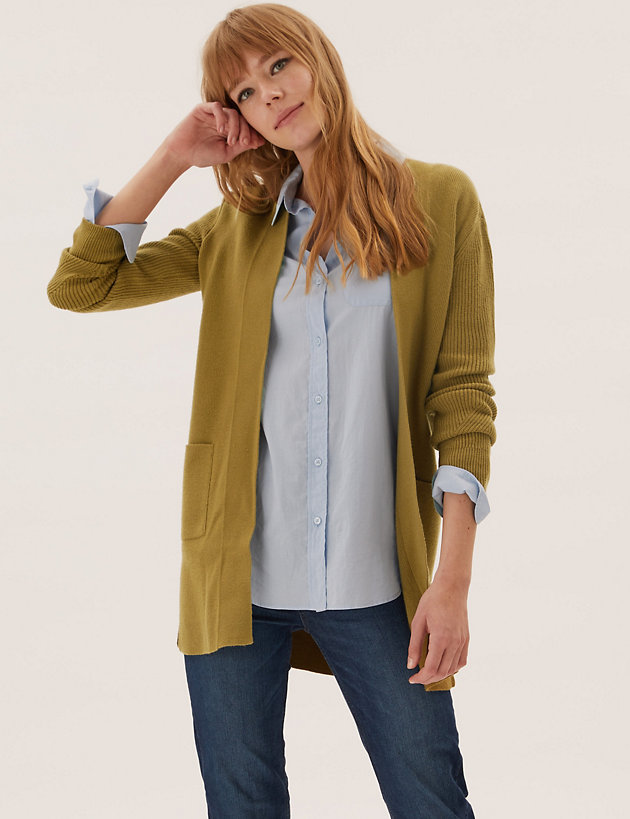 Soft Touch Knitted Longline Cardigan