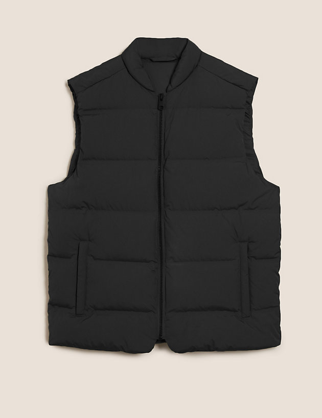 Feather and Down Gilet